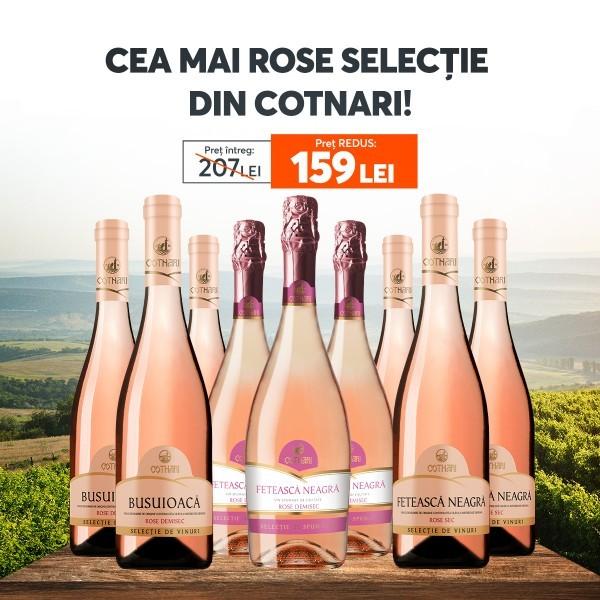 Cea mai rose selectie din Cotnari